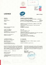 Certification TPC NF Ø 160