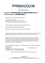 Certificat Alimentarité Bouchons