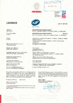 Certification TPC NF Ø 40 à 110